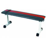 скамья под штангу Brumer TF307F, черная / красная