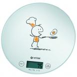 кухонные весы Vitek VT-8018, белые