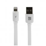кабель / переходник Remax Safe & Speed Lightning-USB (M-M, плоский, 1 м), белый