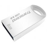 usb-флешка 8 Gb, Transcend JetFlash 710S (Silver) USB 3.0 R/W 90/6 MB/s