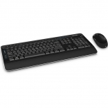 комплект Microsoft Wireless Desktop 3050 USB, черный