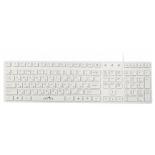 клавиатура Oklick 556S USB, белая