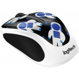 мышка Logitech Wireless Mouse M238, Party Collection - Spaceman