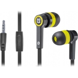 гарнитура для телефона Defender Pulse-420, черно-желтая