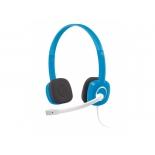 гарнитура для пк Logitech Stereo Headset H150, синяя