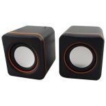 компьютерная акустика Oklick OK-301, черно-оранжевая