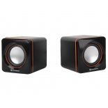 компьютерная акустика Soundtronix SP-96, черно-оранжевая