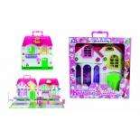 игровое устройство Дом для кукол 1toy Красотка 28 деталей