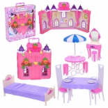 игровое устройство Замок для кукол 1toy Красотка