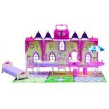 игровое устройство Замок для кукол 1toy Красотка Колокольчик 29 деталей