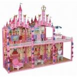 игровое устройство Замок для кукол 1toy Красотка 187 деталей