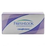 контактные линзы Alcon Freshlook R: 8.6, D: 0 Изумрудно-Зеленые (2 шт)