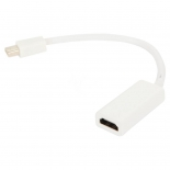 кабель (шнур) VCOM VHD6055 (Mini DisplayPort — HDMI, M/F, 20 см), белый