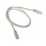 кабель (шнур) Aopen UTP кат.5е, 1 м, серый (ANP511_1M)