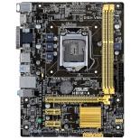 материнская плата ASUS H81M-A Soc-1150 H81 DDRIII mATX SATA3  LAN-Gbt USB3.0