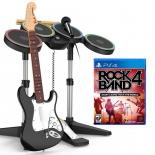 игровой контроллер специальный Mad Catz RockBand 4 Band-in-a-Box для PS4 (гитара + барабаны + микрофон + игра)