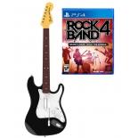 игровой контроллер специальный Mad Catz RockBand 4 + Fender Stratocaster для PS4 (гитара + игра)
