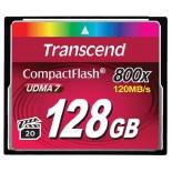 карта памяти Transcend CF 128Gb (800x, UDMA 7)