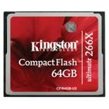 карта памяти Kingston CF/64GB-U2 (64Gb, 266x)