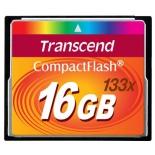 карта памяти Transcend CF 16Gb 133x (TS16GCF133)