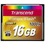 карта памяти Transcend  CF 16Gb 1000x (TS16GCF1000)