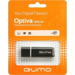 usb-флешка Qumo Optiva  USB2.0 32Gb (RTL), Black