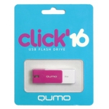 usb-флешка Qumo Click USB2.0 16Gb (RTL), Violet