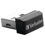 usb-флешка Verbatim 32Gb Store n Stay Nano 98130 USB2.0, черный
