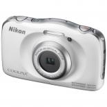 цифровой фотоаппарат Nikon Coolpix W100, белый