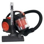 Пылесос Mystery MVC-1124, черный/оранжевый