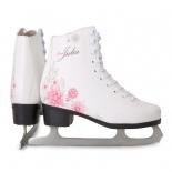 коньки Larsen Julia размер 37, белый / розовый