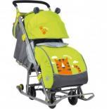 санки-коляска Nika Ника детям 7 Тигр лимонный