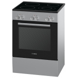 плита Bosch HCA623150, серебристая