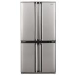 холодильник Sharp SJF95STSL, серебристый