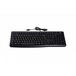 клавиатура Logitech Keyboard K120 for business Black USB