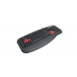 клавиатура A4Tech X7-G600 Black PS/2