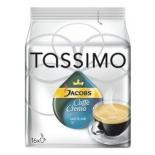кофе Tassimo Jacobs Caffe Crema (кремовый кофе Якобс в капсулах для кофемашин)