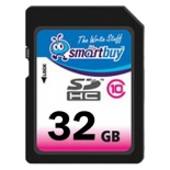 карта памяти SmartBuy SDHC Class 10 32GB