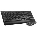комплект Oklick 240 M Multimedia Keyboard Black USB