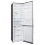 холодильник LG GA-B489 YMDZ, серебристый