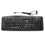 клавиатура Microsoft Wired Keyboard 200 Black USB (JWD-00002)