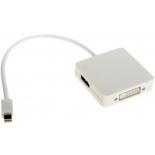 кабель (шнур) VCOM VHD6050 (miniDP - DVI), белый