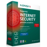 программа-антивирус Kaspersky Internet Security Multi-Device Russian Ed. 3-Device 1 year