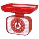 кухонные весы Delta КСА-105, красные