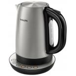 чайник электрический Philips HD9326/20, серебристый