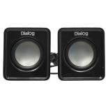 компьютерная акустика Dialog AC-02UP, черная