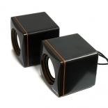 компьютерная акустика Dialog AC-04UP, черно-оранжевая