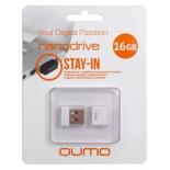 usb-флешка Qumo Nanodrive USB2.0 16Gb (RTL), White