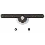 кронштейн Brateck LED-096,  черно-серебристый