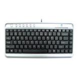клавиатура A4Tech KLS-5UP, серебристо-черная